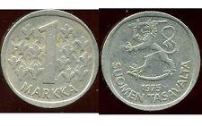 FINLANDE 1 markka 1975