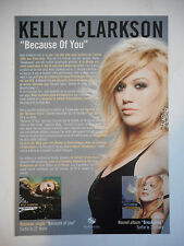 ▓ PLAN MEDIA ▓ KELLY CLARKSON : BECAUSE OF YOU