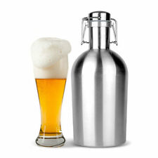 Nouvelle bière bourguignon 64oz swing top hip flask ultimate bourguignon 1.9L botella bouteille