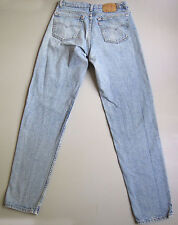 Vintage Levi's 550 Jeans 34 x 36 Light Wash Blue Denim Relaxed USA 32 x 34.5