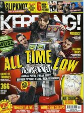 Kerrang Magazine issue 1560 all time low muse slipknot tonight alive