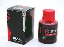 GLARE Fountain Pen Bottled Ink  - Brilliant Red  -1x60ml