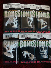 Monster Bundle-Reaper huesos 77004, 77028, 77153, 77156, 77188 77189-BNIB