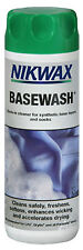 Nikwax BaseWash - cleaner for use on synthetic items worn next to the skin