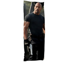 DWAYNE JOHNSON Fast and Furious Pillow case Dakimakura 97776498