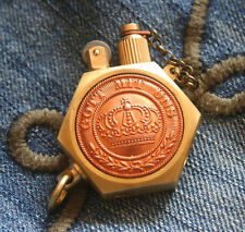 Solid Brass EDC WWI German Army Survival Trench Petro Lighter Repro GOTT MIT UNS