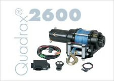 Quadrax 2600 Winch with 40' of 4.9mm synthetic rope 2600lbs  WIRELESS REMOTE