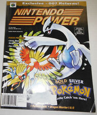 Nintendo Power Magazine Gold Version Pokemon Silver Stadium Vol.136 083014R