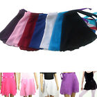 Candy Color Children Kids Ballet Tutu Dance Skirt Skate Wrap Chiffon Scarf New