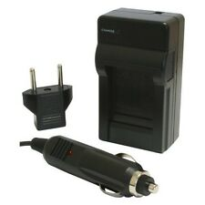 Replacement Home Wall Car Charger for Canon EOS LC-E6 E6E E6C LCE6 + 60D 6D 70D