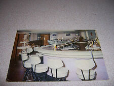 1961 MOXIE'S ARCADE BAR & DINING ROOM RIPON WISCONSIN VTG POSTCARD