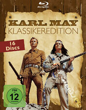 Karl May Classic Collection NEW Cult Blu-Ray 16-Disc Set Lex Barker Pierre Brice