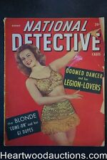 National Detective Cases Aug 1947 GGA Cover