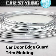 10ft 300cm Chrome Silver Car Door Edge Guard Moulding Trim DIY Protector Strip