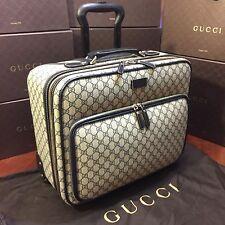 NEW Gucci GG Plus Pilot Case. Telescopic Handle, Wheels. $4,018