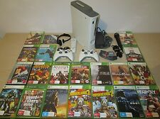 Massive Xbox 360 Bundle Lot 3, 60 GB Console, 20 Games, 2 Controllers, Remote ++