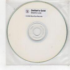 (FU503) Delilah's Gold, Electric Love - 2008 DJ CD