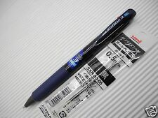 T.Navy UNI-BALL Jetstream 3 in1 0.5mm ultra fine ball pen free 2 refills black