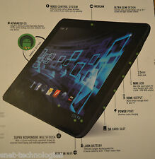 CnM Touchpad 10.1 inch 1.6GHz Dual Core Tablet WHITE FRONT & BACK CAMERA OS 4.1