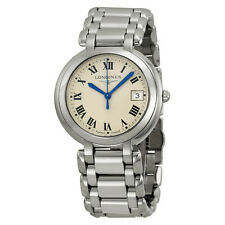 Longines PrimaLuna Stainless Steel Ladies Watch L8.114.4.71.6