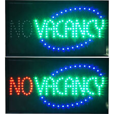 Large Animated 2in1 Vacancy No Vacancy on off LED Open Motel Hotel Inn Sign neon