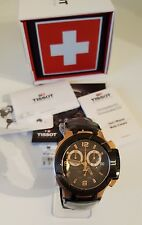 Tissot Men's T0484172705706 T-Race Rose Gold Tone Chronograph Men's Watch