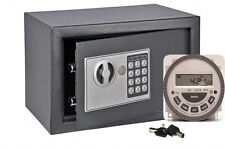 TIME CONTROLLED LOCK DIGITAL SAFE, CHRONOVAULT
