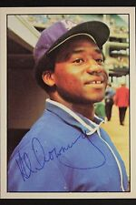 Alphonso Downing Dodgers Autographed 1975 SSPC #66 Signed Card RARE 16L