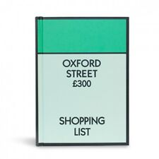 Monopolio a Oxford Street SHOPPING A6 RIGIDA FODERATO Notebook NUOVO VENDUTO PER hospice