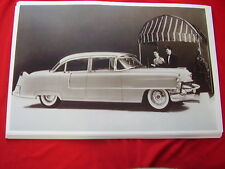 1955  CADILLAC  4DR SEDAN 62 SERIES  11 X 17   PHOTO   PICTURE