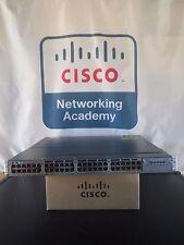 Cisco WS-C3750X-48P-S 3750-X PoE+ Dual Power 715WAC 15.0 IOS 1-Year Warranty!!