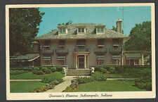 PPC #G227* GOOD POSTCARD GOVERNORS MANSION INDIANAPOLIS IN POSTED