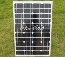50W 12V Mono solar panel for camper caravan boat 50 watt mc4 Connector 3m cable
