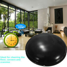 "7"" Home Robotic Smart Automatic Cleaner Robot Microfiber Mop Dust Cleaning Black"