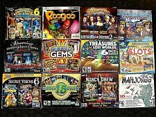(Lot of 12) PC Games Hidden Objects, Seek and Find, Nancy Drew and More!!!