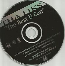 Alkaholiks THA LIKS The best U can RADIO VERSIONS & INSTRUMENTAL PROMO CD Single