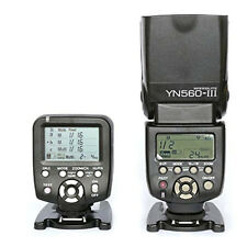 Yongnuo YN560-TX LCD Wireless Flash Controller + 1pc YN560 III Flash For Canon
