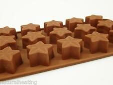 15 cell 3D Star Stars Silicone Chocolate Candy Bakeware Mould Cake Pan Mold