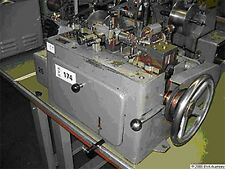 Small Theodore Bechtold (Germany) Curb Chain Making Machine - NEW 1963