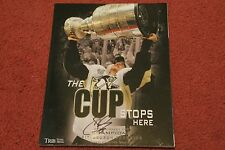 SIDNEY CROSBY The Cup Stops Here Pittsburgh Penguins Book AUTOGRAPHED w/ COA