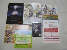 With First Card. USED PS3 Tales of Vesperia Reversible Package Japanese Version.