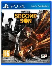 INFAMOUS SECOND SON PS4 Game (PRE OWNED) (USED) Excellent Condition