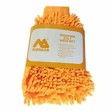 Morgan MICROFIBER 2 IN 1 WASH MITT Ideal For Car House & Boat, Machine Washable