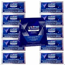 Crest 3D White Professional Whitening Effects Whitestrips (20 strips 10 pouches)