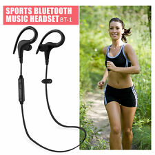 New Wireless Bluetooth Headset Sports Stereo Headphone with Microphone Earphone
