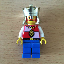 LEGO Castle Royal Knights King (cas060) vintage and very rare. From set 6090
