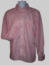 Lrg MODERNACTION Shirt Red Stripe Skinhead Mod Oi! Ska Infa Riot Fred Perry