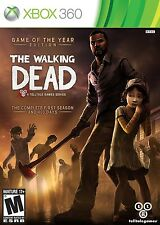 NEW Walking Dead Game of the Year GOTY Edition Xbox 360 Complete First 400 Days