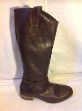 Johnnie b Brown Knee High Leather Boots Size 39