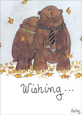 Loving Bears - Recycled Paper Greetings Thanksgiving Card